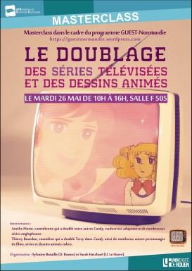 Affiche doublage