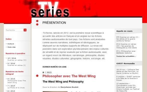 TV series revues.org